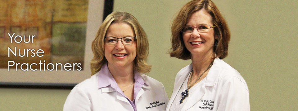 Introducing our Nurse Practitioners